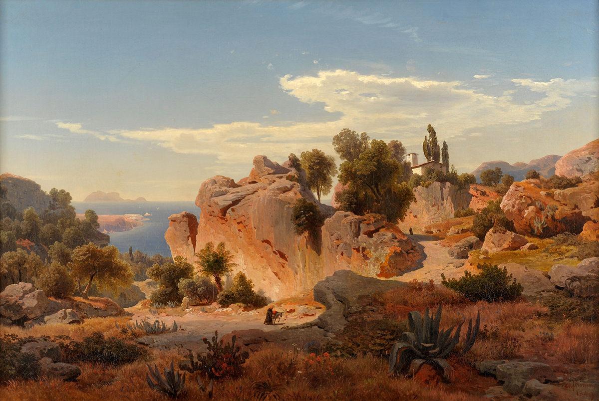 Albert Flamm . Capri