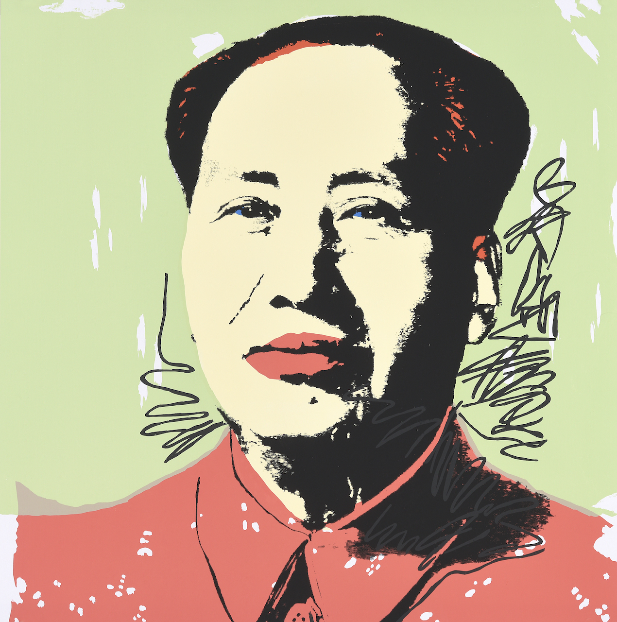 Andy Warhol. Mao. Farbserigraphie