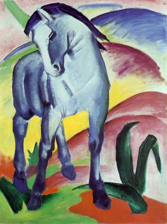 Franz Marc . Der Blaue Reiter