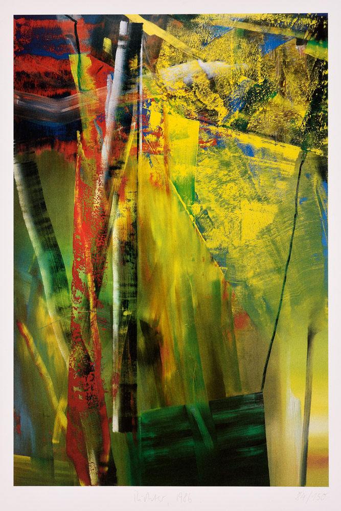 Gerhard Richter. Victoria I. . 1986. Farboffset