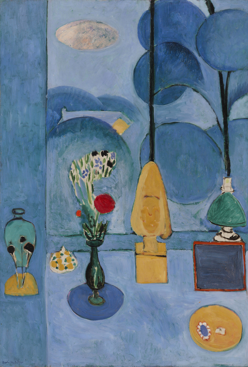 Henri Matisse. La Glace sans tain. 1913. Öl / Leinwand. 130,8 x 90,5cm