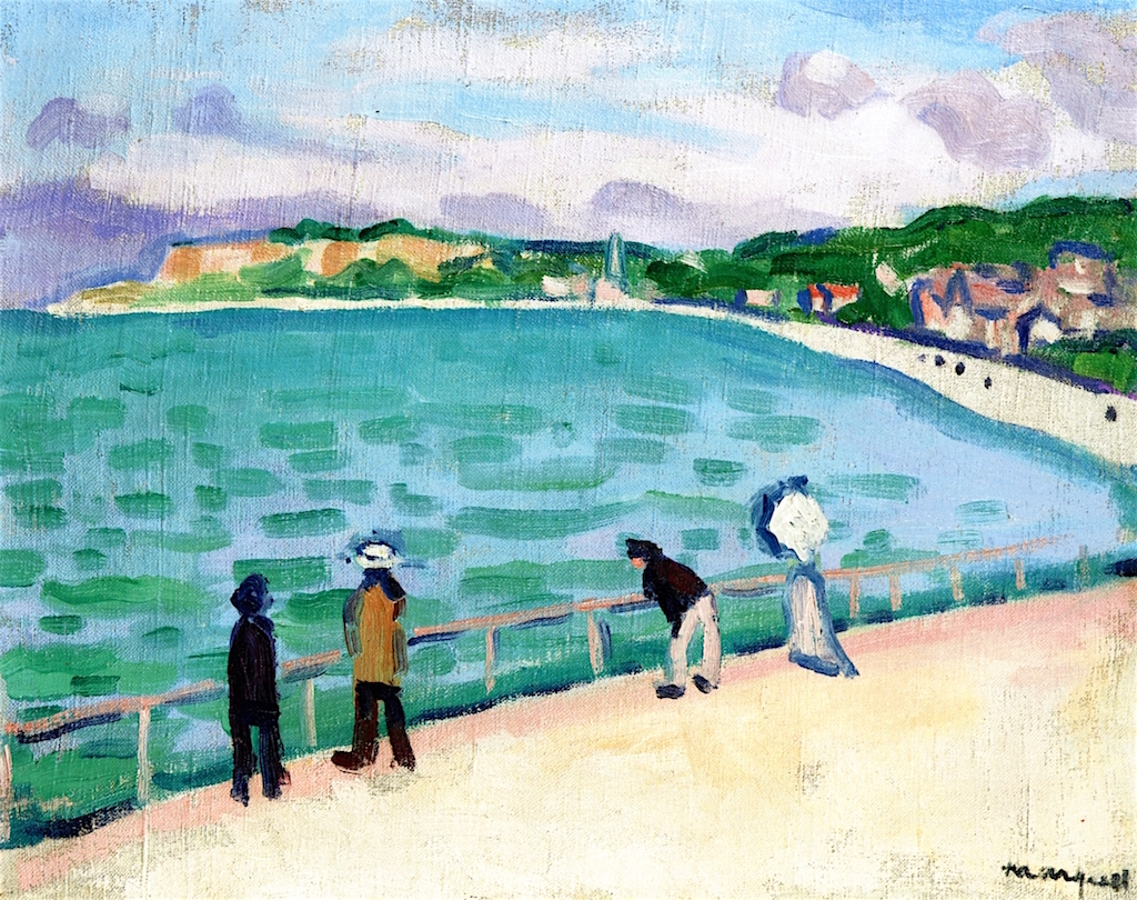 Albert Marquet. The Jetty, Sainte-Adresse. 1905/1906. Öl / Leinwand