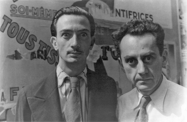 Carl van Vechten. Portrait von Salvador Dali und Man Ray, Paris. 1934.