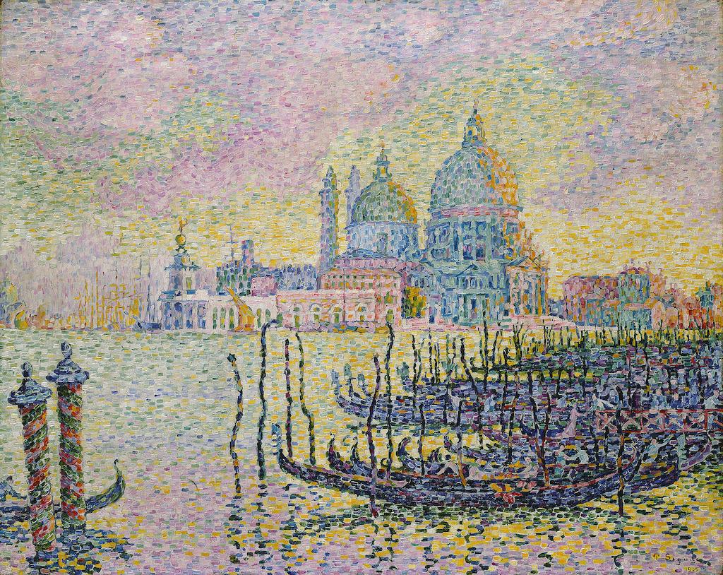 Paul Signac. Entrance to the Grand Canal, Venice. 1905. Öl / Leinwand. 73,5 x 92,1cm