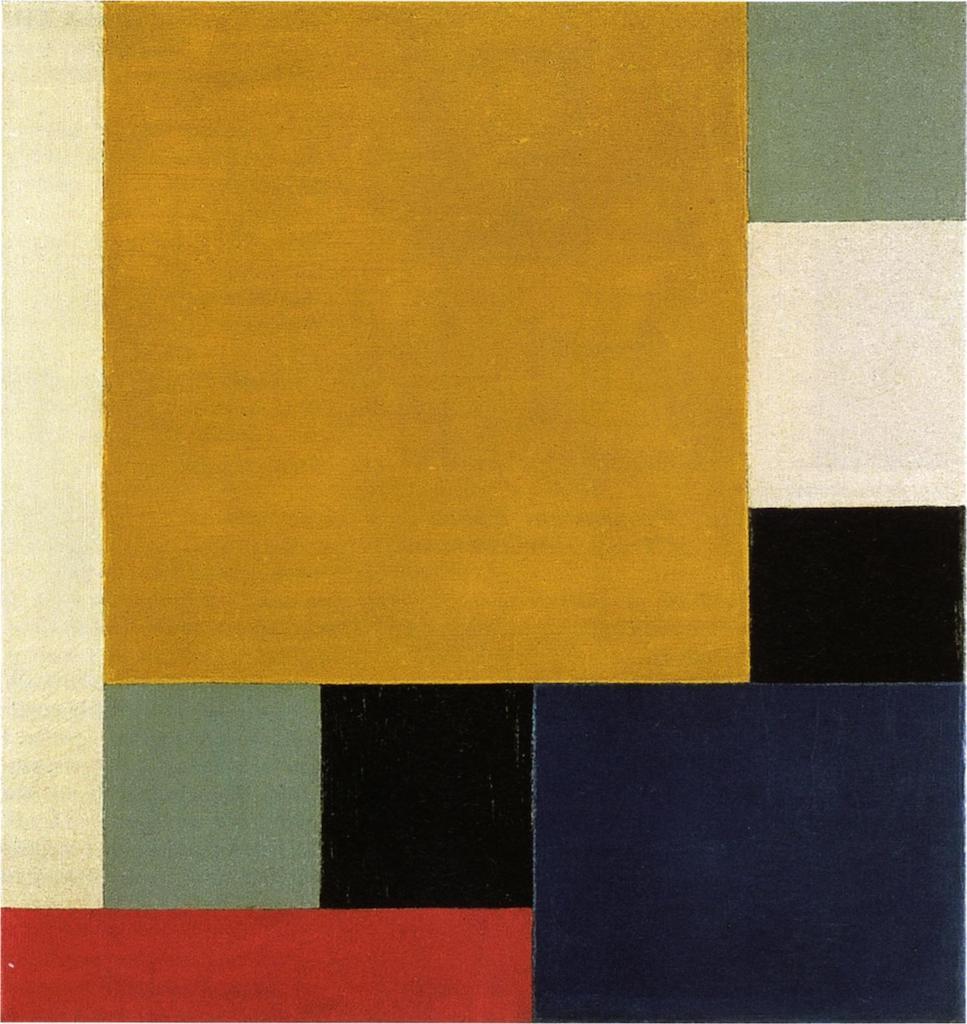 Theo van Doesburg. Komposition XXII. 1922. Öl / Leinwand. 45,5 x 43,3cm