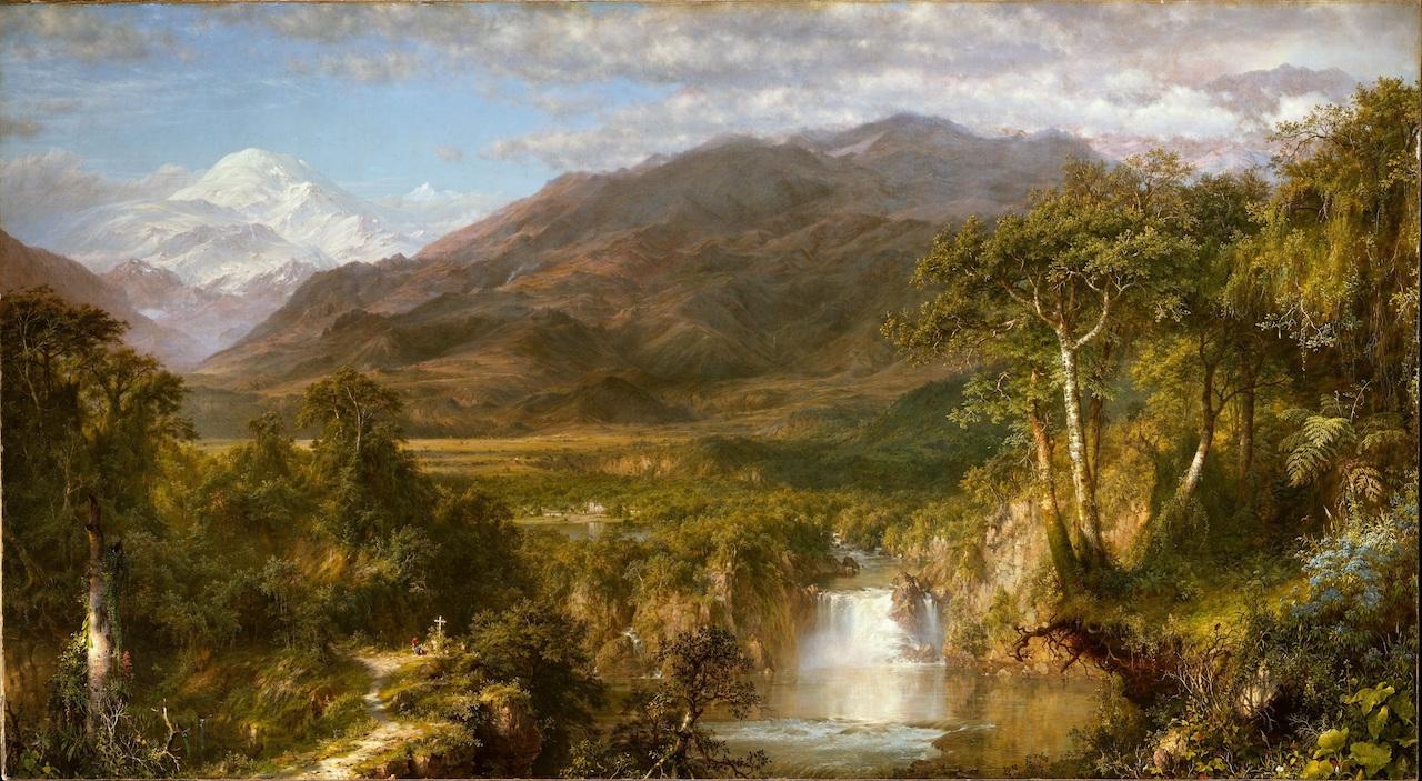 Frederic Edwin Chruch. The Heart of the Andes. 1859. Öl / Leinwand. 168 x 302,9cm