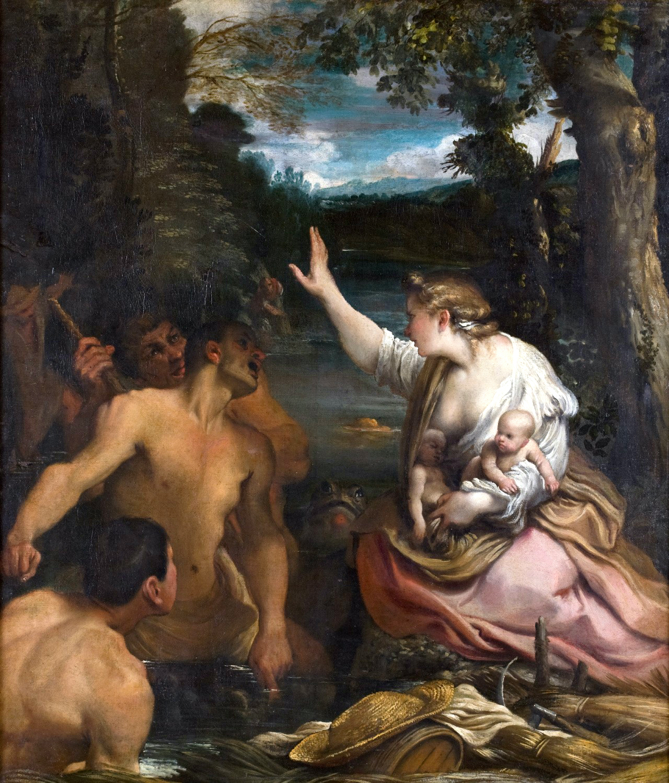 Annibale Carracci. Latona. vor 1609. Öl / Leinwand. 90,6 x 78cm