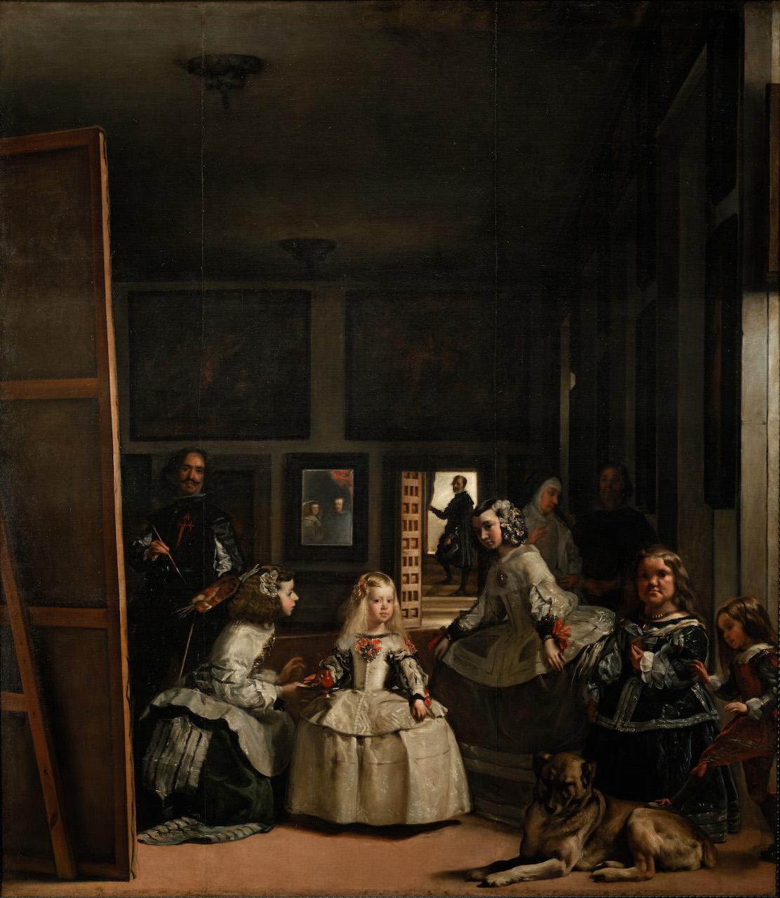 Diego Velázquez. Las Meninas. 1656 / 1657. Öl / Leinwand. 318 x 276cm