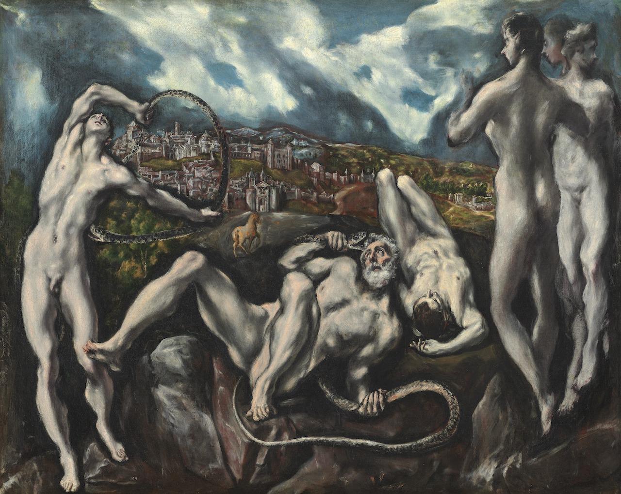 El Greco. Laokoon. 1610/1614. Öl / Leinwand.